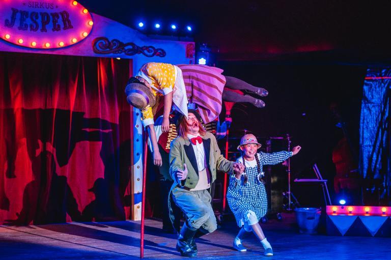 Sirkus Jesper (Egen billett)