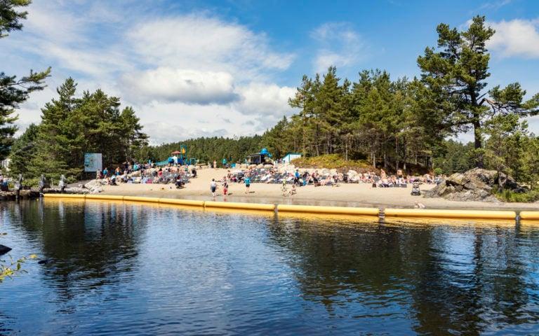 Badelandet: Stranda